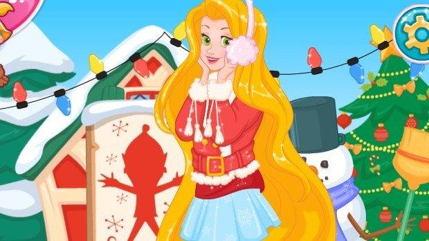 Jogo Rapunzel's Frosty Photoshoot
