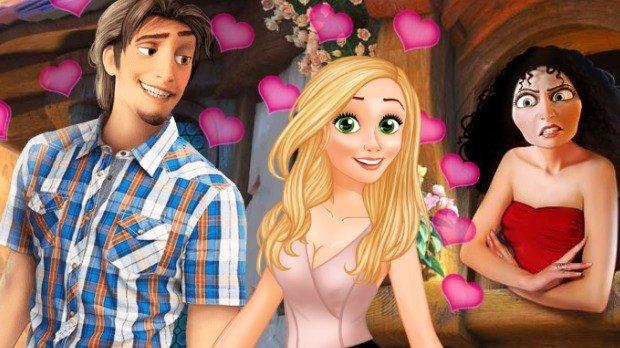 Jogo Rapunzel Secret Date