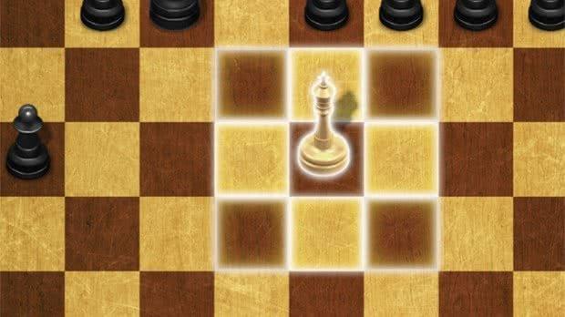 Movimento Rei xadrez