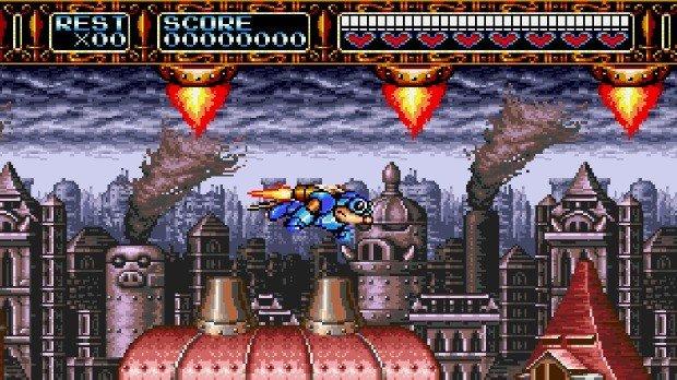 Jogo Rocket Knight Adventures