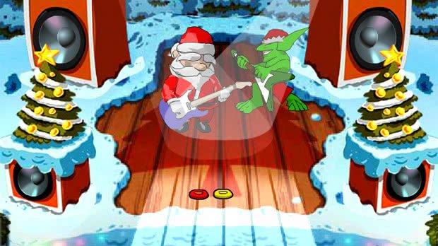 Jogo Santa Rockstar