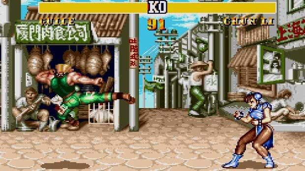 street fighter 2 mega drive