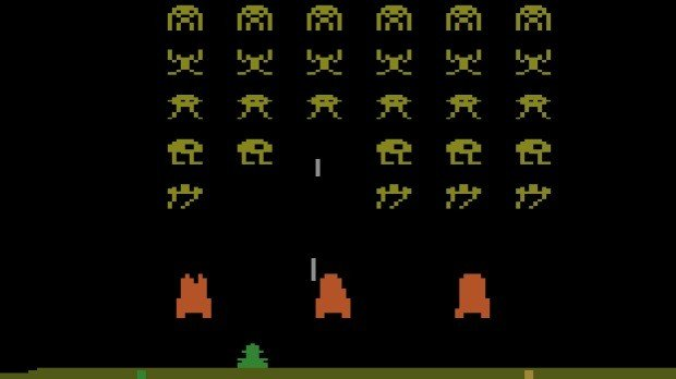 Jogo Space Invaders do Atari