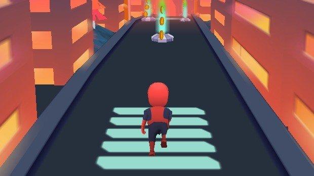 Jogo Subway Spider Kid