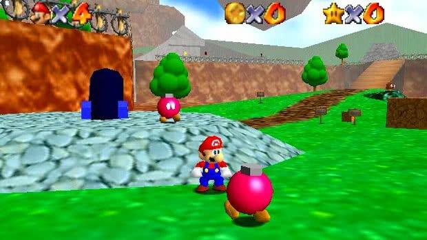 Jogo Super Mario 64