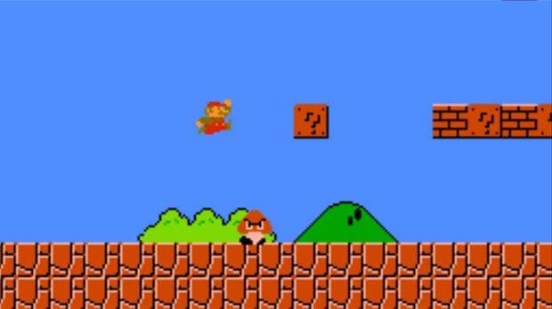 Jogo Super Mario Bros.