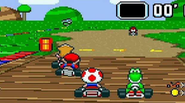 Jogo Super Mario Kart