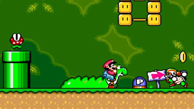Jogo Super Mario World
