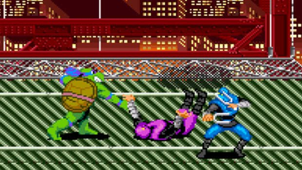 Jogo Turtles in Time