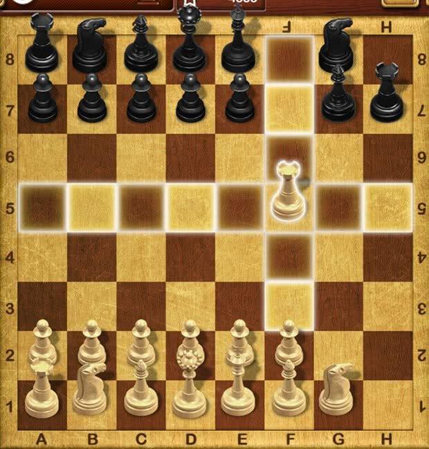 Movimento da Torre no xadrez