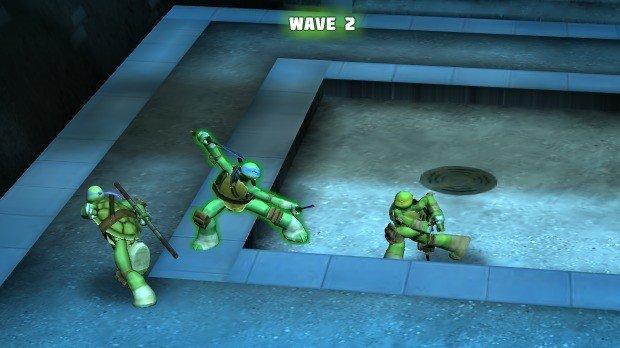 Jogo Ninja Turtles Tactics 3D