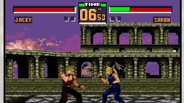 Jogo Virtua Fighter 2