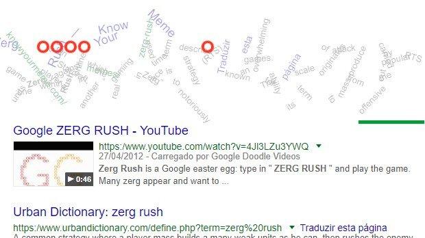 Jogo Zerg Rush