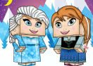 Frozen Dress Up Minecraft Edition