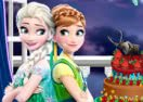 Frozen Sisters vs Monster High