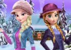 Jogar Frozen Winter Dress Up