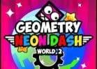 Jogar Geometry Neon Dash World 2