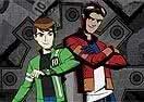 Heróis Unidos Mutante Rex e Ben 10