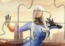 Invisible Woman Jigsaw Puzzle