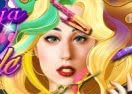 Lady Gaga Fantasy Hairstyle