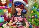 Ladybug Christmas Shopping