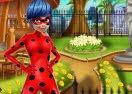 Ladybug Garden Decoration