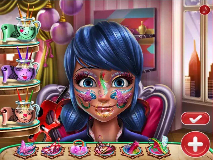 Jogo Ladybug Glittery Makeup