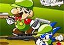 Mario e Sonic-Zombie Killer