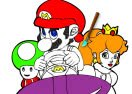 Mario Kart Online Coloring