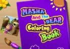 Jogar Masha And The Bear Coloring Book