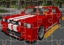 Minecraft Cars Jigsaw