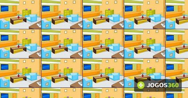 Jogo modern living room escape no jogos 360 for Como jogar modern living room escape