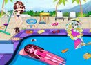 Monster High Swimming Pool Cleaning