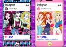 Monster High vs Disney Princesses: Instagram Challenge