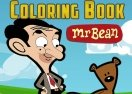 Mr. Bean Coloring Book
