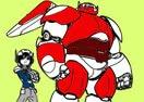 Colorir Operação Big Hero