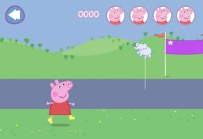 Peppa Pig Muddy Puddles - screenshot 1