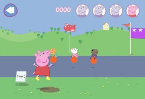 ... Peppa Pig Muddy Puddles - screenshot 2 ...