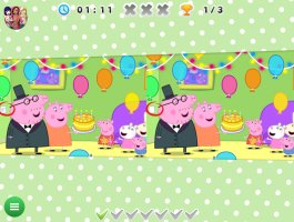 Peppa Pig Spot the Difference - screenshot 1
