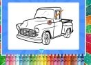 Pick Up Truck Coloring