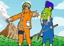 Pintar Sasuke e Naruto
