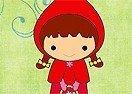 Pinte a Chapeuzinho Vermelho