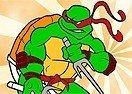 Pinte a Tartaruga Ninja Rafael