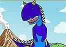 Pinte Às de Dinossauro Rei