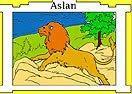 Pinte Aslan de Narnia