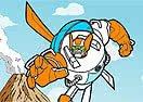 Pinte Blades dos Transformers Rescue Bots