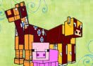 Pinte Criaturas de Minecraft