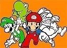 Pinte Mario e sua Turma