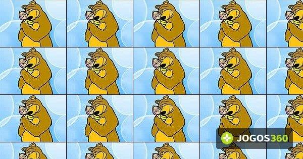Jogo Pinte Masha E O Urso No Jogos 360