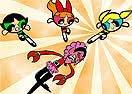 Pinte Meninas Superpoderosas Lutando Com Ele